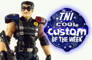 "TNI Cool Custom of the Week - 3.75"" Comedian Watchmen Action Figure by John Harmon Mint Condition Customs"