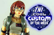 TNI Cool Custom of the Week - Janine Melnitz in Ghostbusters Uniform Action Figure by John Harmon Mint Condition Customs