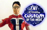 TNI Cool Custom of the Week - Stephen Colbert's Tek Jansen Action Figure by John Harmon Mint Condition Customs