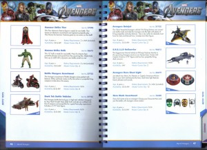 Avengers Movie Toy Catalog