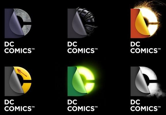 DC Comics New Logo Collage 2012
