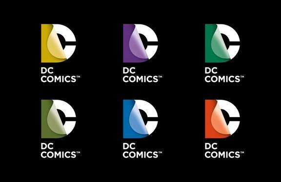 DC Comics New Logo Collage 2 2012