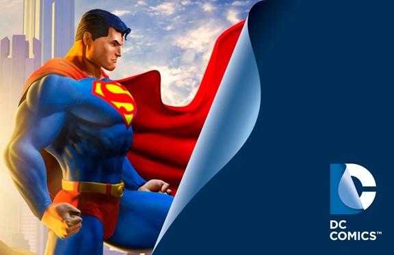 DC Comics New Logo Superman 2012