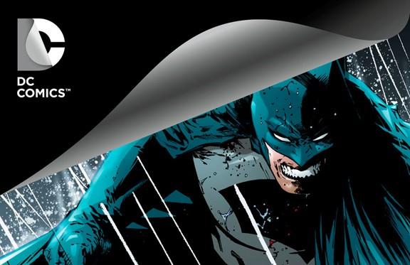 DC Comics New Logo Batman 2012
