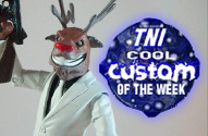 TNI Cool Custom of the Week - Rudolph the Hitman Reindeer by John Harmon Mint Condition Customs