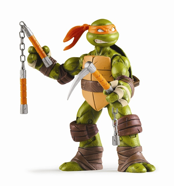 Playmates Teenage Mutant Ninja Turtles New Michelangelo