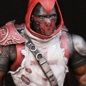 DC Direct Arkham City Azrael