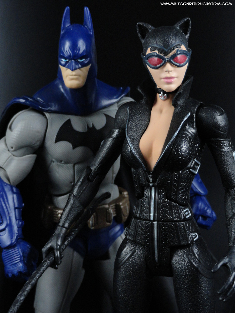 "Mattel Batman Legacy Arkham City Asylum 2 Pack Batman Catwoman 6"" Action Figure"