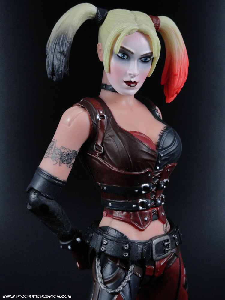 how to draw harley quinn arkham city