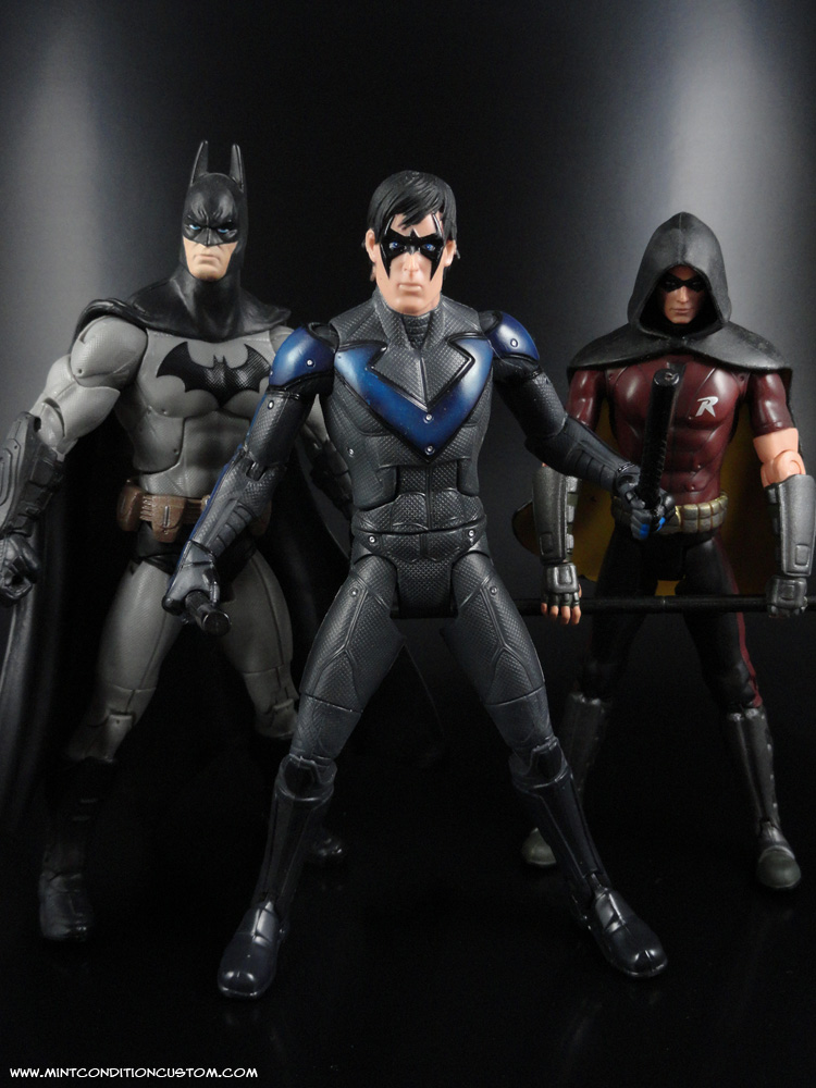 Nightwing Batman Arkham City Pictures to pin on Pinterest Joseph Gordon Levitt Nightwing