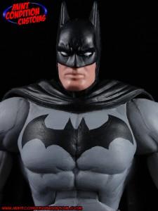 "DC Universe 6"" Batman Mattel Mint Condition Custom Action Figure John Harmon"