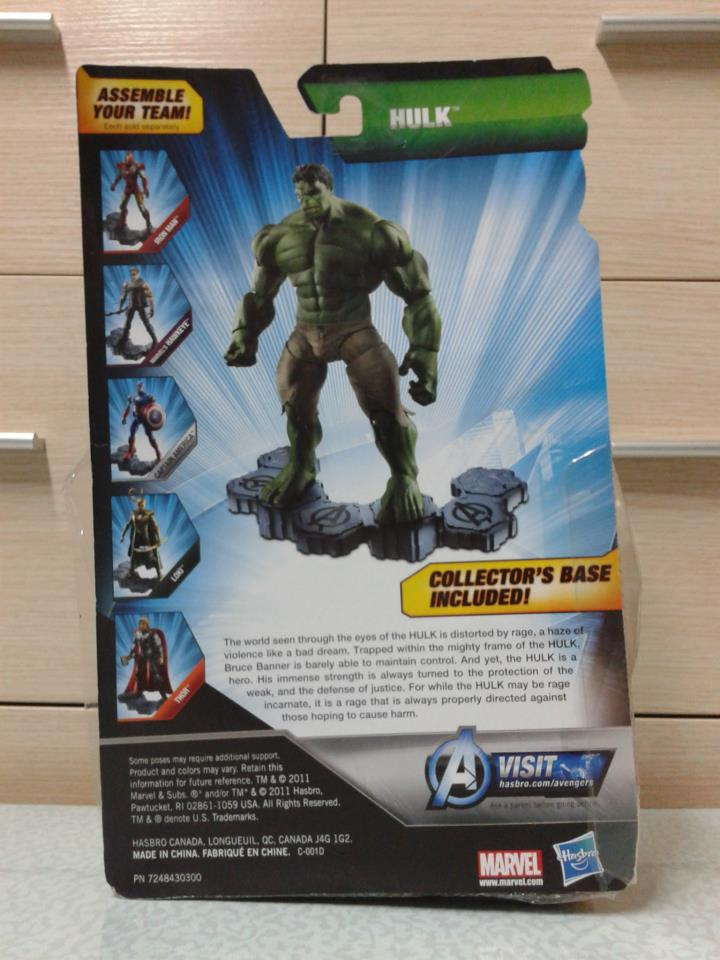 Marvel Legends Avengers Movie Hulk 2012 Movie Avengers Hulk