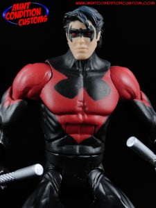 "DC Universe 6"" Nightwing New 52 Mattel Mint Condition Custom Action Figure John Harmon"