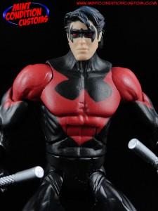 "DC Universe 6"" Nightwing New 52 Mattel Mint Condition Custom Action Figure John Harmon"