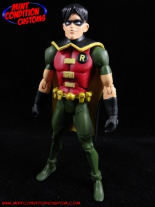 "DC Universe 6"" Robin Young Justice Teen Titans Mattel Mint Condition Custom Action Figure John Harmon"