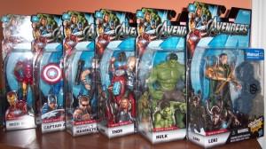 "Hasbro Marvel Legends 6"" Avengers Movie Figures Iron Man Captain America Hawkeye Thor Hulk Loki"