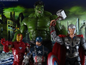 Marvel Select Legends Hulk Mark Ruffalo Avengers Joss Whedon Iron Man Captain America