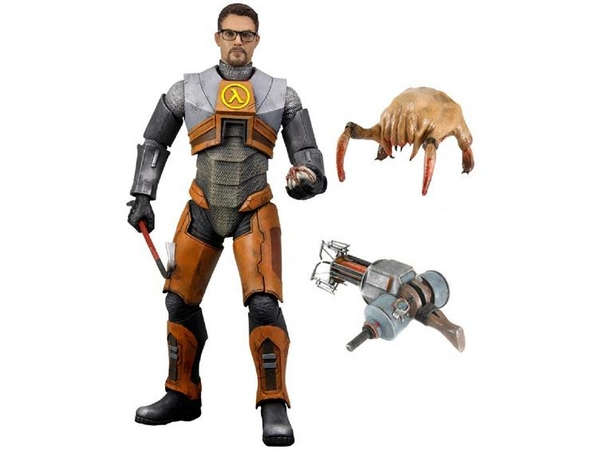 "NECA Gordon Freeman 7"" Action Figure Video Game Half Life 2"