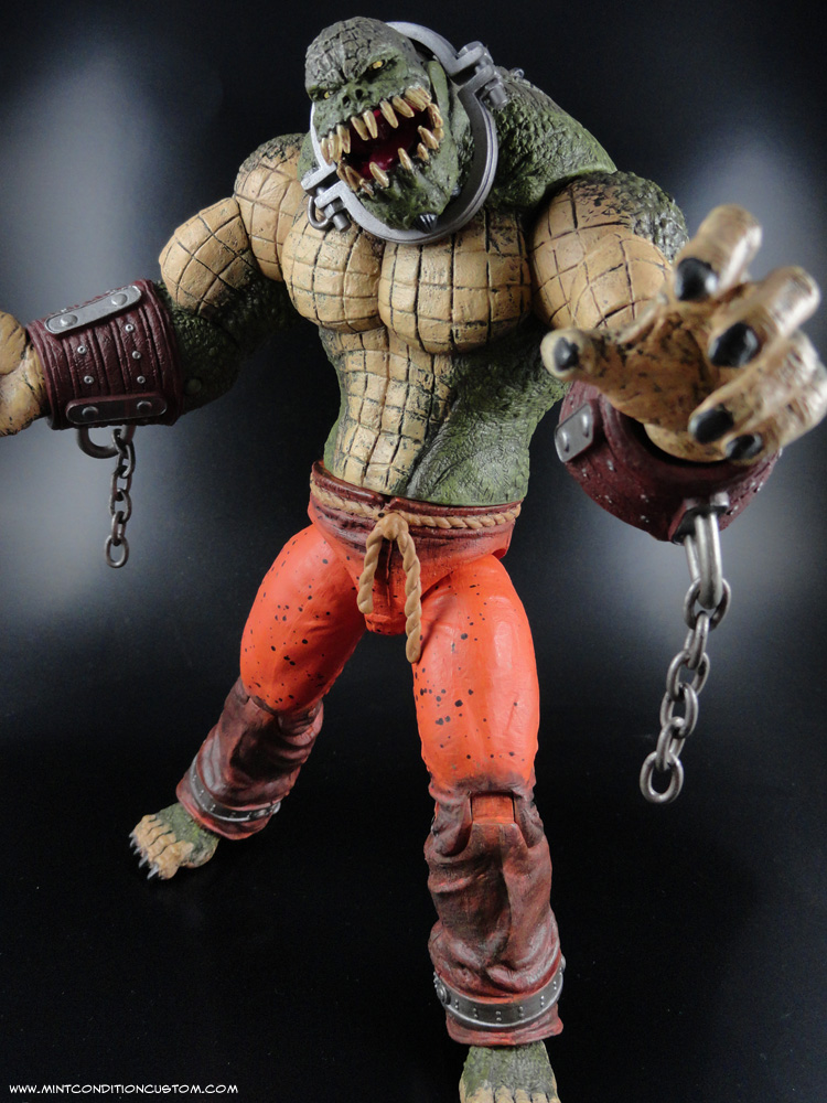 Killer Croc Arkham Asylum Lair Batman Arkham City Killer Croc