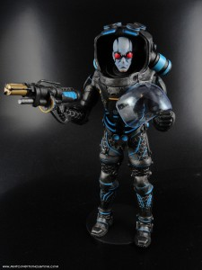 "DC Collectibles (DC Direct) Mr. Freeze Batman Arkham City 7"" Deluxe Action Figure In Package"