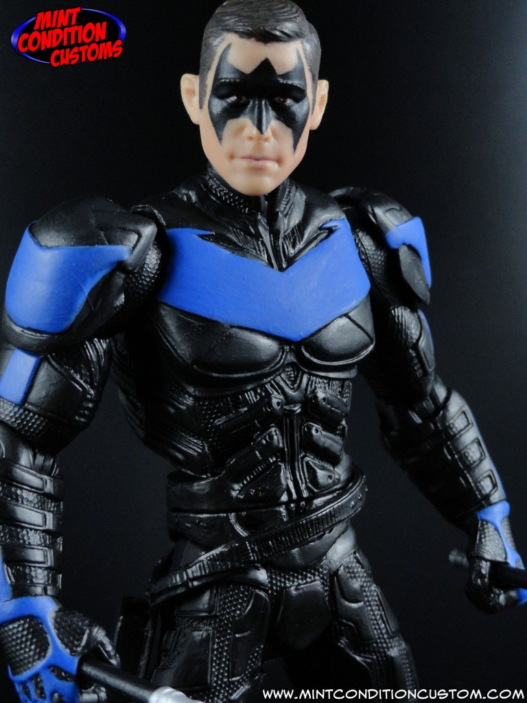 "Custom 6"" Dark Knight Rises DC Universe Classics Movie Masters Nightwing Robin John Blake Concept Action Figure"