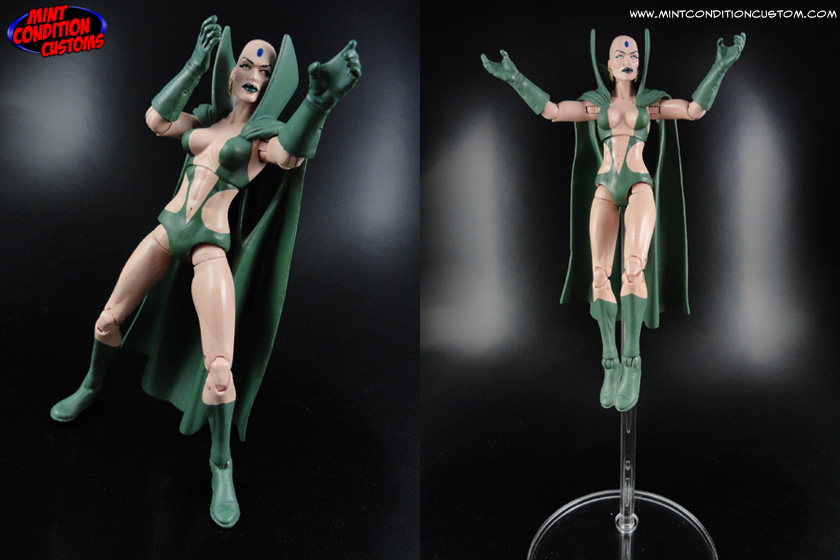 "Custom Moondragon 6"" Hasbro Marvel Legends Action Figure"
