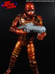 "Custom Neo Viper Officer (Mettalic Orange) 3 3/4"" G.I. Joe Rise of Cobra Pursuit Retaliation Action Figure"