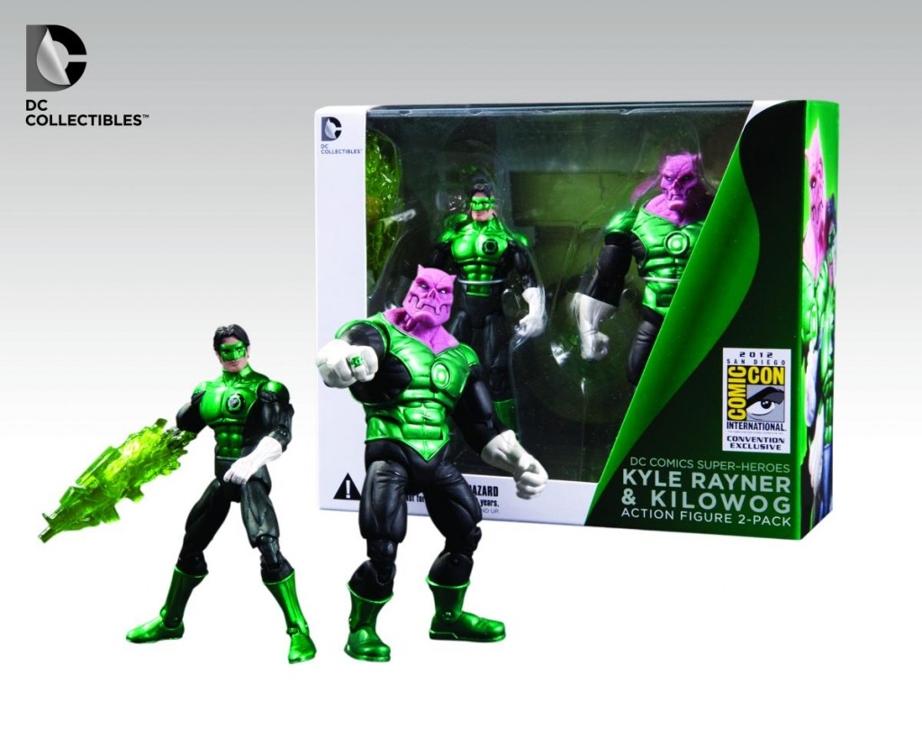 DC Collectibles San Diego Comic-Con 2012 Exclusive Green Lantern Kyle Rayner & Kilowog 2 pack