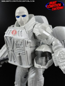 "Custom Space Neo Viper Version 2 3 3/4"" G.I. Joe Rise of Cobra Pursuit Retaliation Action Figure"