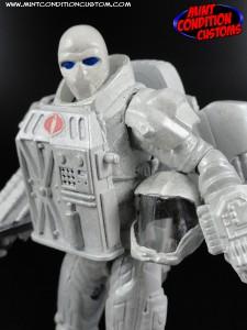 "Custom Space Neo Viper Version 2 3 3/4"" G.I. Joe Rise of Cobra Pursuit Retaliation Action Figure"