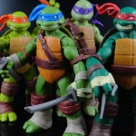 Review – Leonardo, Michelangelo, Donatello, and Raphael – 2012 Teenage Mutant Ninja Turtles, Playmates (21 Pictures!)