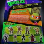 2012 Nickelodeon Teenage Mutant Ninja Turtles TMNT Michelangelo Card Back and Bio