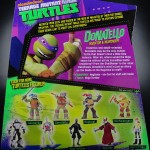 2012 Nickelodeon Teenage Mutant Ninja Turtles TMNT Donatello Card Back and Bio