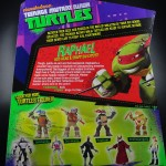 2012 Nickelodeon Teenage Mutant Ninja Turtles TMNT Raphael Card Back and Bio