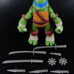 2012 Nickelodeon Teenage Mutant Ninja Turtles TMNT Leonardo with accessories