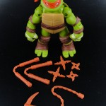2012 Nickelodeon Teenage Mutant Ninja Turtles TMNT Michelangelo with accessories