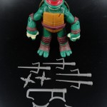 2012 Nickelodeon Teenage Mutant Ninja Turtles TMNT Raphael with accessories