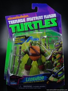 2012 Nickelodeon Teenage Mutant Ninja Turtles TMNT Leonardo in package