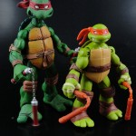 Comparison of New Nickelodeon TMNT Michelangelo to NECA TMNT Michelangelo