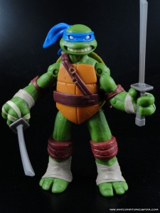 2012 Nickelodeon Teenage Mutant Ninja Turtles TMNT Leonardo Sculpt