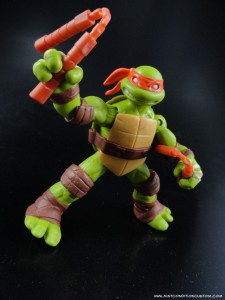 2012 Nickelodeon Teenage Mutant Ninja Turtles TMNT Michelangelo Articulation