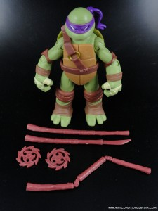 2012 Nickelodeon Teenage Mutant Ninja Turtles TMNT Donatello with accessories