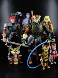 "6"" Thundercats Modern Tygra Action Figure Lion-O Cheetara Panthro Mumm-Ra"