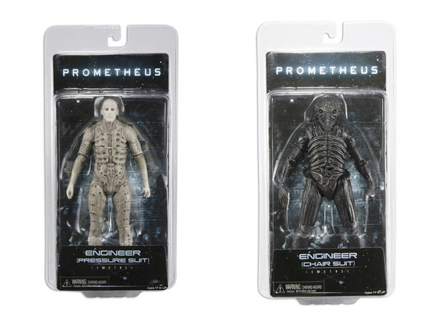 NECA Toys Prometheus Action Figures In Packaging