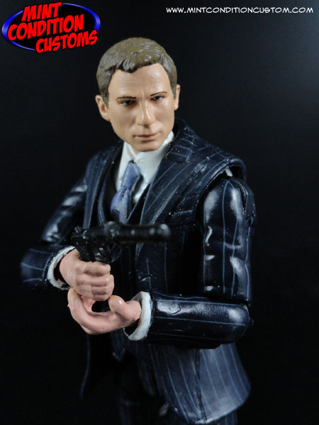"Custom Daniel Craig James Bond 007 3 3/4"" G.I. Joe Action Figure"