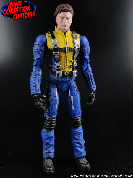 Custom Professor X Charles Xavier (X-Men First Class Movie Style) 6″ Marvel Legends Action Figure