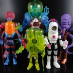 Four Horsemen Studios Outer Space Men Series 1 and 2 Infinity Edition & Series 5 and 6 Alpha Phase Action Figures