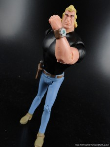 "Bif Bang Pow Venture Bros. 3 3/4"" Brock Samson Action Figure"