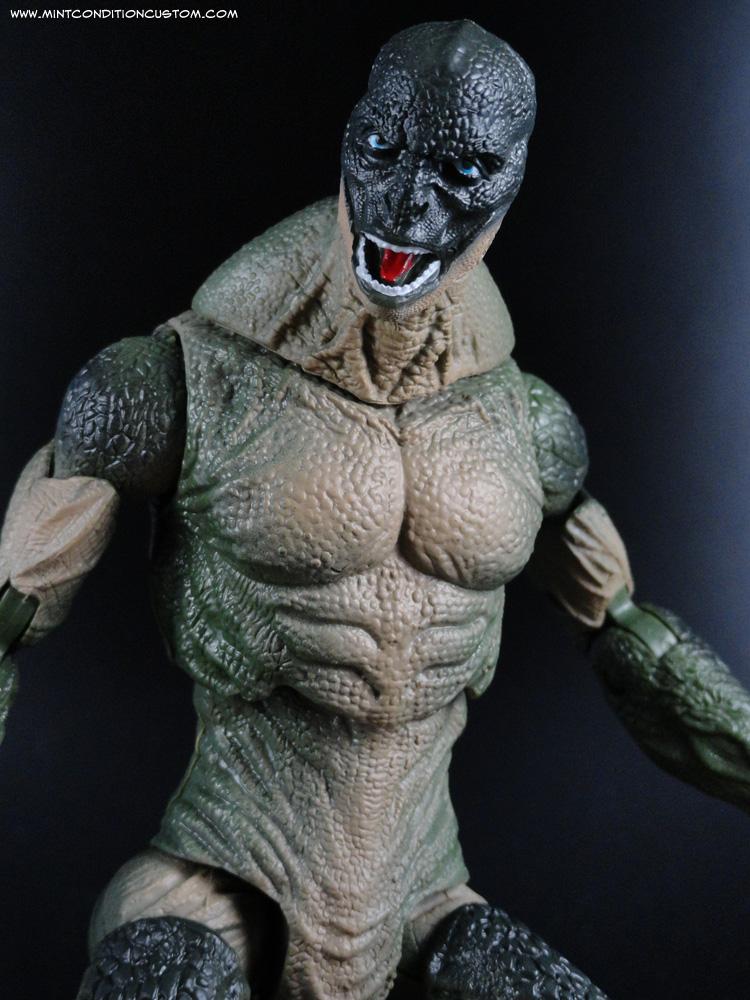 "The Lizard 6"" Amazing Spider-Man Marvel Movie Action Figure Hasbro"