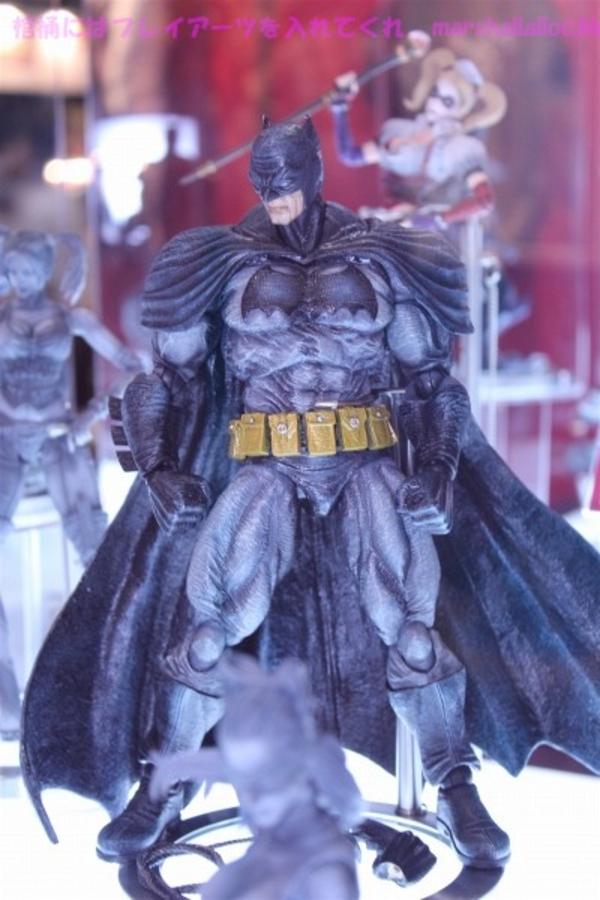 Play Arts Kai Batman Dark Knight Rises Arkham Asylum City Action Figures 2012 Tokyo Game Show